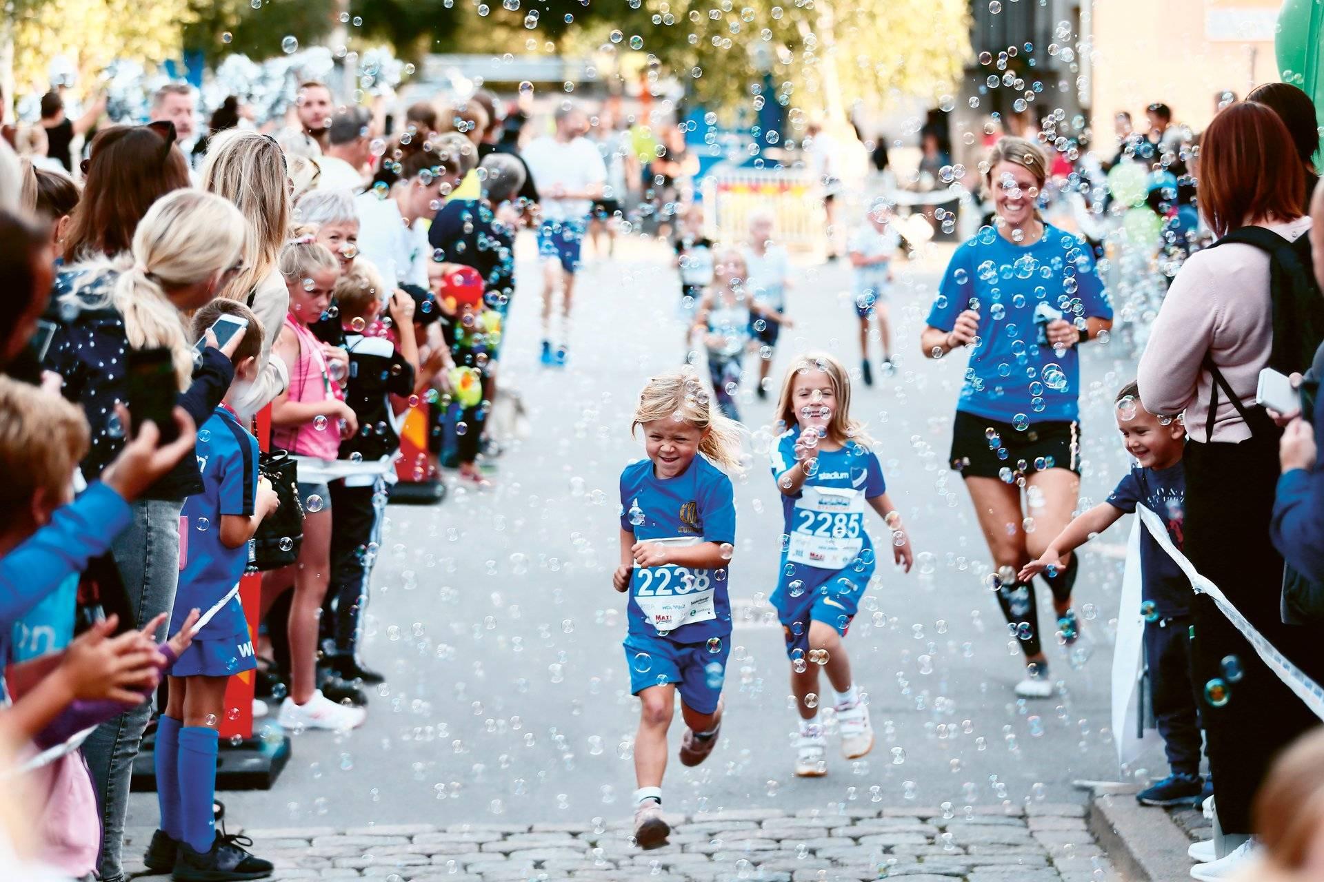En bild för en kolumn om Lilla Lundbergsloppet